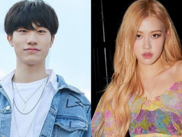 Bang Yedam TREASURE dan Rose Blackpink