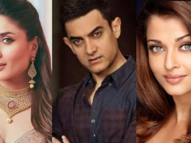 Kareena Kapoor, Aamir Khan, dan Aishwarya Rai